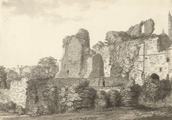 Lincoln, Bishop's Palace f.125